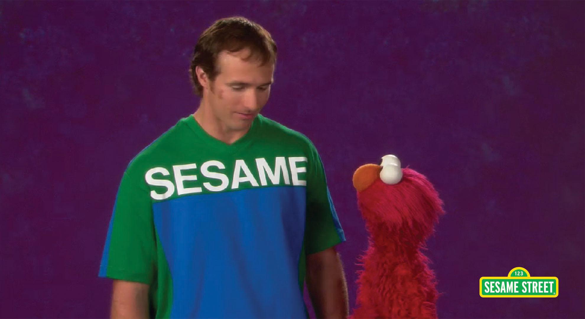 Drew Brees: Measure   Sesame Street