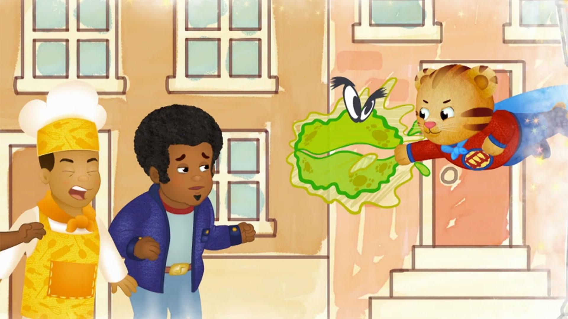 A Germ-Fighting Superhero