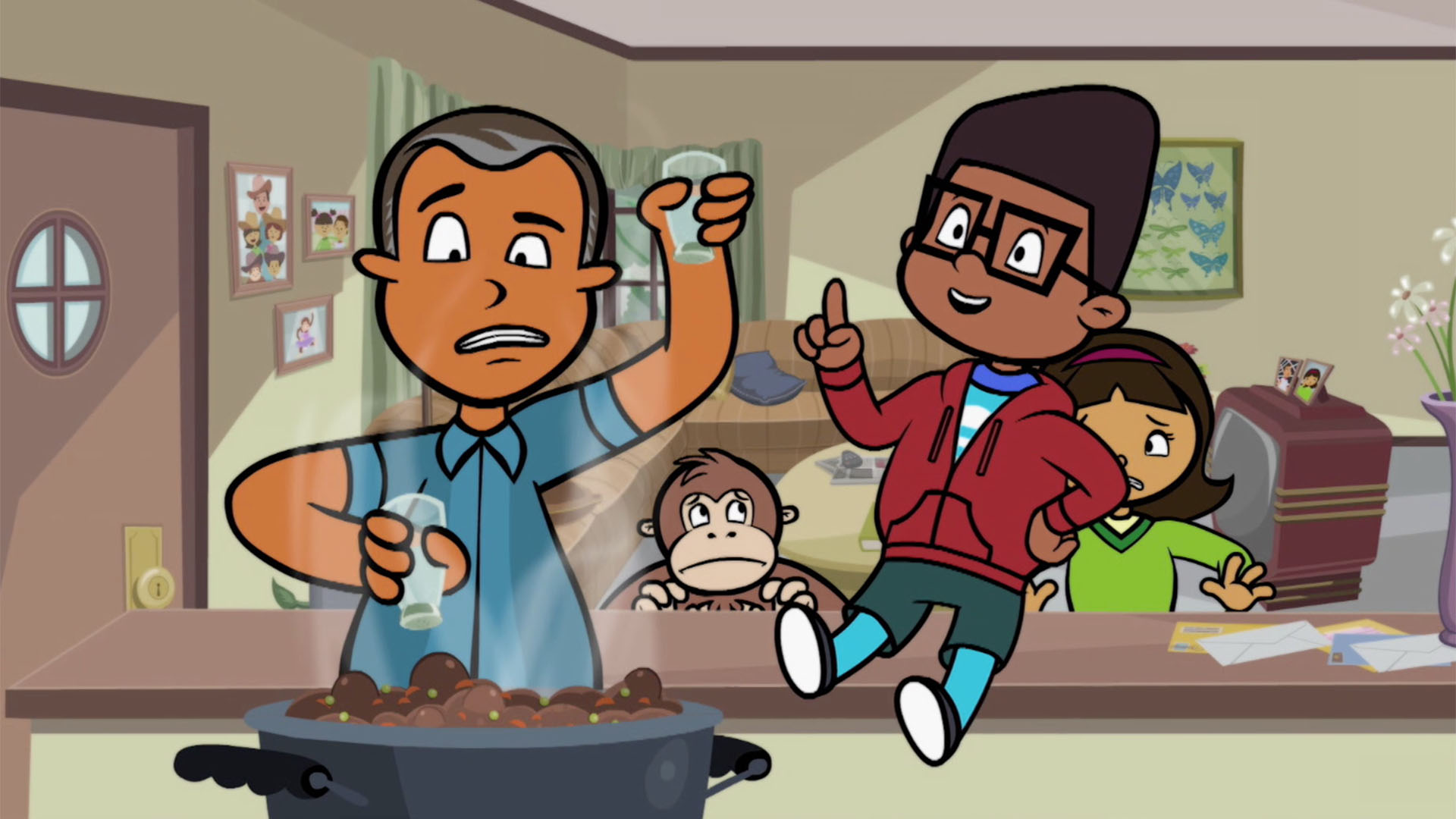 Kid Math's Coming to Dinner | WordGirl