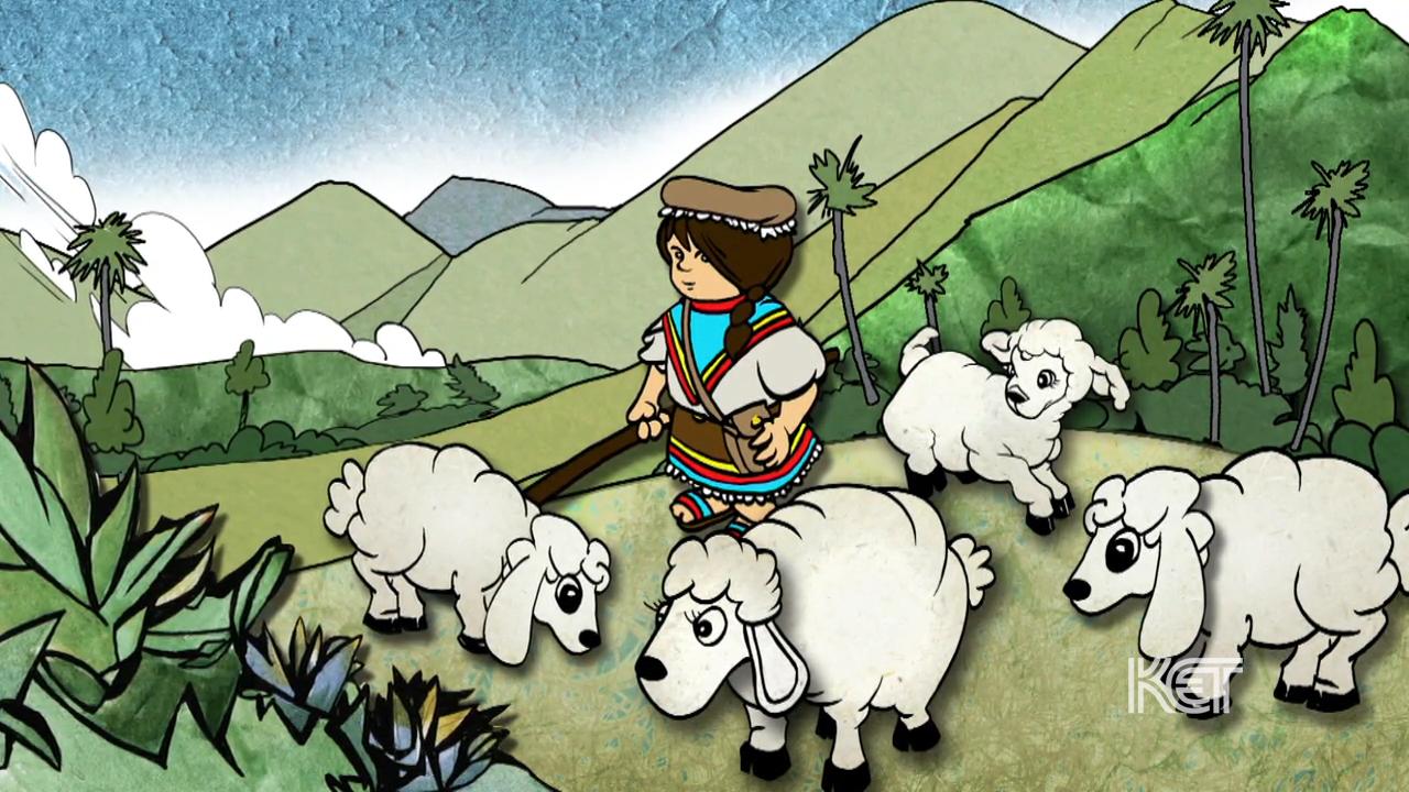 Columbian Folktale: Pastorcita