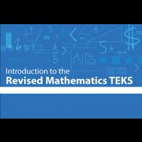 Introduction to the Revised Mathematics TEKS logo