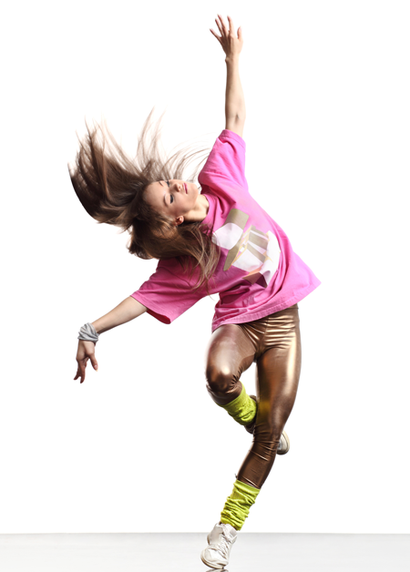 Image of a dancer in motion