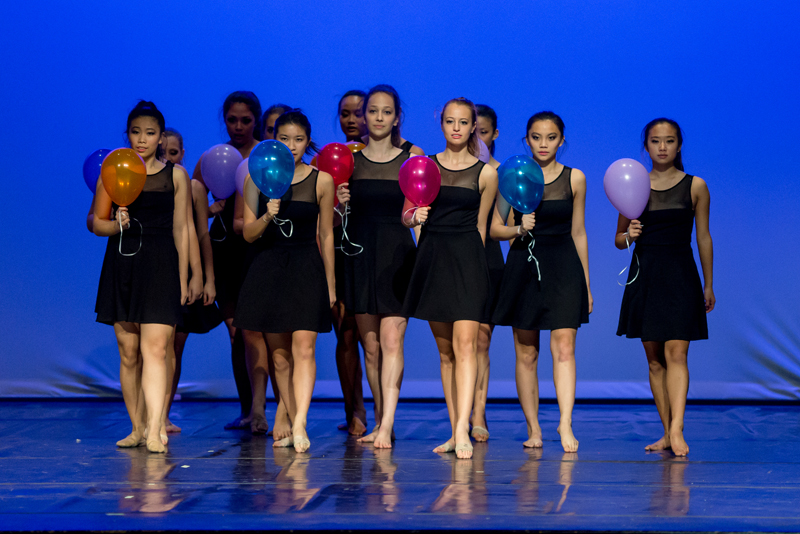 Image of a group of dancers on stage