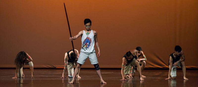 Image of dancers on stage