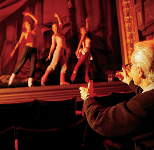 Image of dancers performing on stage