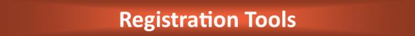 registration tools section header