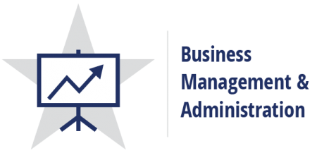 Business Management and Administration Career Cluster logo