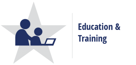 Education and Training Career Cluster logo