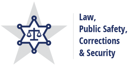 Law, Public Safety, Corrections and Security Career Cluster logo