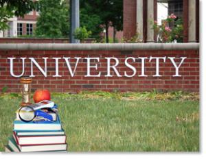 A university campus