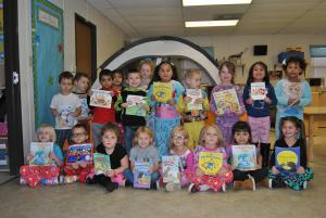 group picture of a Head Start class