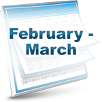 Calendar-Icon-February-March