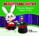 Cover of Grade 1: Magician Nicki Reveals Magnetic Magic Tricks book
