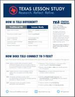 2017 Texas Lesson Study Flyer