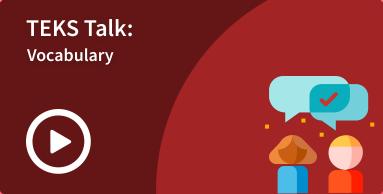 TEKS Talk - SLA Vocabulary image